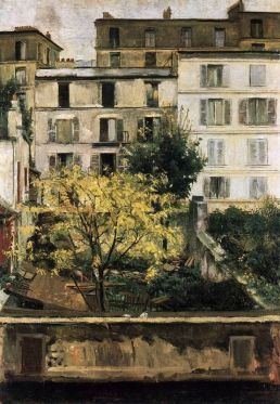Maria Slavona, Houses at Montmartre, 1898