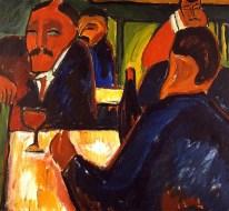 Karl Schmidt-Rottluff, Wine Bar, 1913