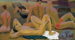 Duncan Grant, Bathers by the Pond, 1920