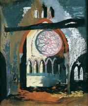 John Piper, Redland Park Congregational Church, Bristol, 1940
