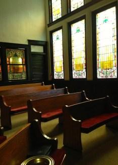Light in the sanctuary