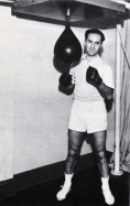 George was a fitness buff his entire life, outfitting his New York apartment with an exercise room c.1935.