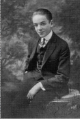 Fred Astaire near the age when he and George Gershwin first met at Remick's music publishing, c.1915.