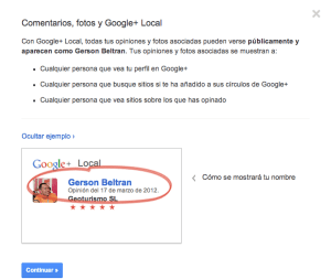 Opinion Google Local gerson beltran blog