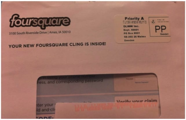 Carta Foursquare blog gerson beltran