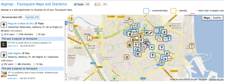Foursquare Map blog gerson beltran