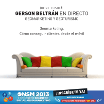 geomarketing congreso online social media #ONSM13