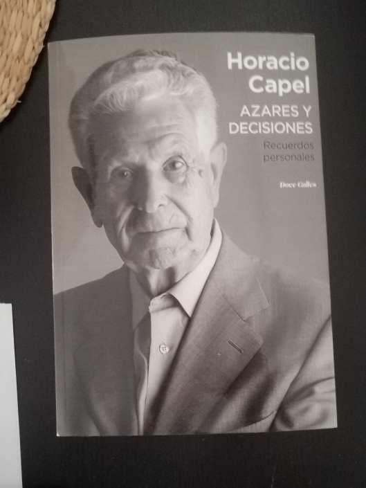 Horacio Capel, azares y decisiones en geografía