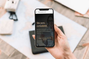 site contábil responsivo - Gerson Queiroz - Consultor em marketing digital