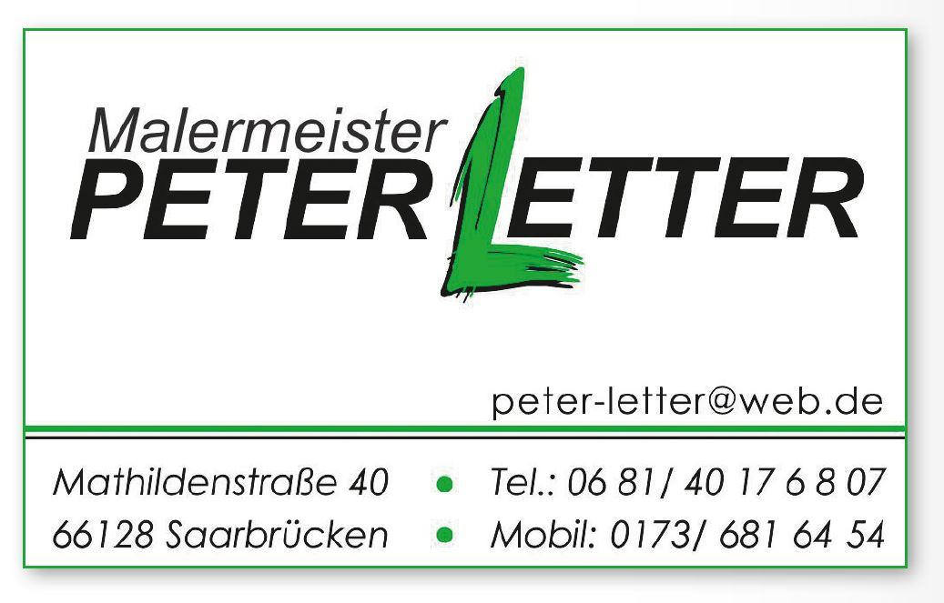 Malermeister Peter Letter