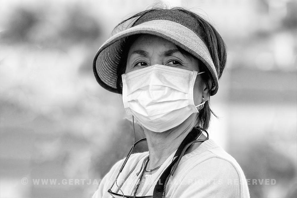 straatfotografie chinees mondkapje