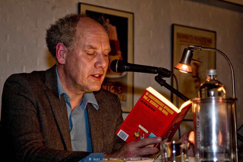 Schrijver PF Thomese in Daaldersplaats Sneek