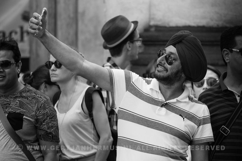 straatfotografie tulband