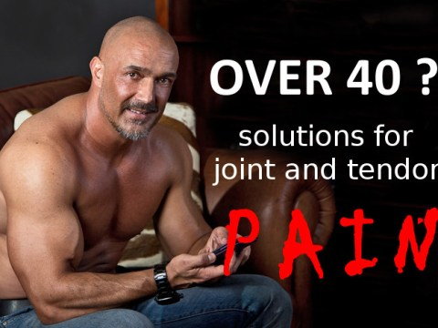 Over 40: Joint-pain solutions 2
