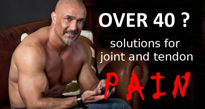 Over 40: Joint-pain solutions 1