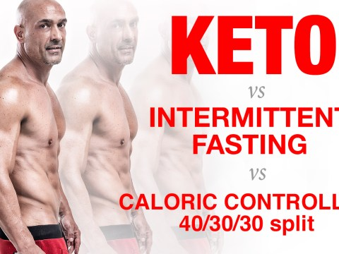 Diet SHOOTOUT - KETO vs IF vs CALORIC CONTROLLED 40/30/30 16