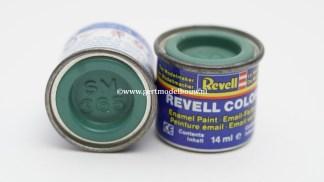 Revell 365 patinagroen zijdemat RAL 6000 modelbouwverf en hobbyverf