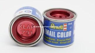 Revell 731 rood clear modelbouwverf en hobbyverf