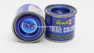Revell 752 blauw clear modelbouwverf en hobbyverf