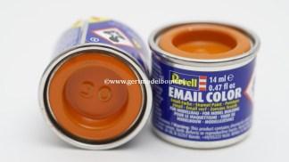 Revell 30 Oranje glanzend modelbouwverf en hobbyverf