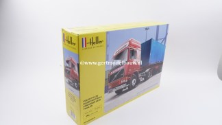 Heller Volvo F12-20 Globetrotter & Container Semi Trailer