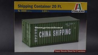 Italeri 3888 20ft container