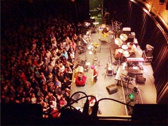Neutral Milk Hotel in Paradiso (bron: Instagram)