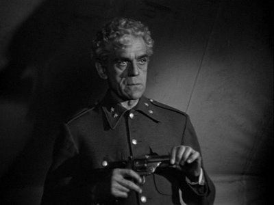Boris Karloff in Isle Of The Dead