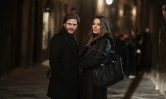 The Face Of An Angel: Daniel Brühl & Kate Beckinsale