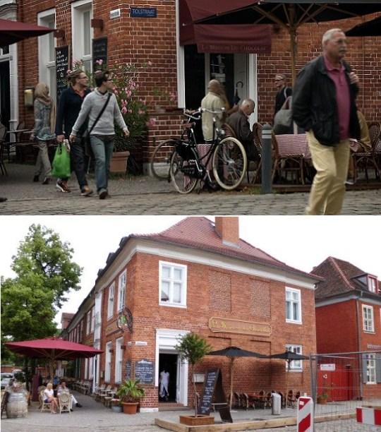 La Maison Du Chocolat in 'Amsterdam' (boven) en in Potsdam (onder)