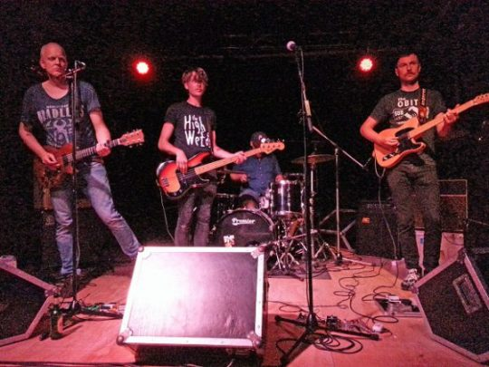 The Fire Harvest live in OCCII