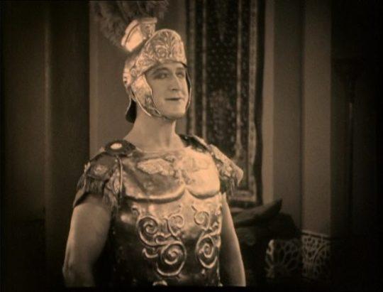 Ben-Hur (Francis X. Bushman in de rol van Messala)