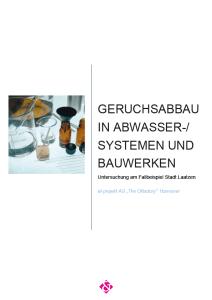 Fallstudie Geruchsabbau in Abwasser-/Systemen Stadt Laatzen