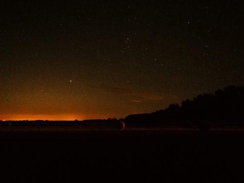 Nachthimmel, Deutschland