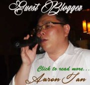 Guest blogger aaron