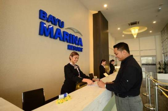 Bayu Marina counter