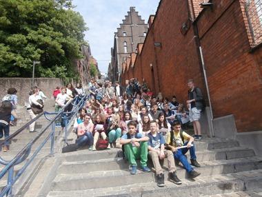 Gruppenfoto Lüttich Mai 2013