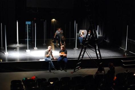 gee whiz Bonn  232 Bühnenvorbereitungen