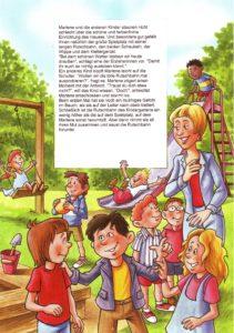 Blick in das Kindergartenbuch