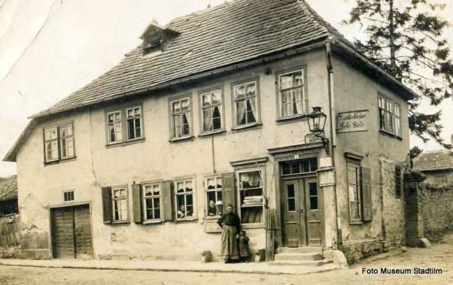 Chaussee-Geld Hebestelle am Erfurter Tor