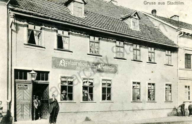 Gasthaus und Restauration zum deutschen Michel um 1905-001