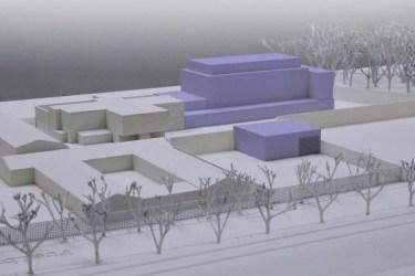 Geplanter Erweiterungsbau Kurzstrafen- und Aussschaffungsgefängnis Basel, 2015. Bild: JSD BS