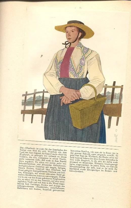 Ernst Laur/Kurt Wirth, Schweizer Trachten, Ausgabe 1954