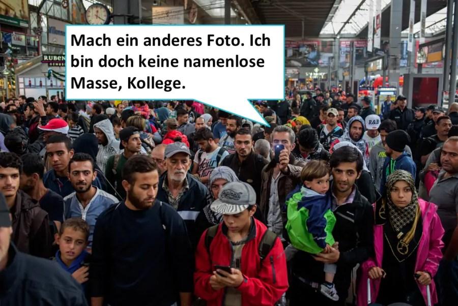 Bahnhof München 2015, Quelle: Medienbubble (Talk Back K.E.)