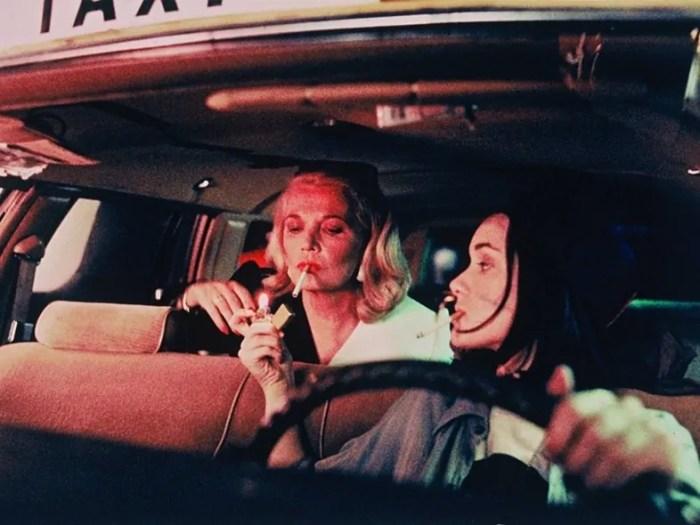 "Wiona Ryder gibt Gena Rowland Feuer, nachts im Taxi: ""Night on Earth"" (1991)"