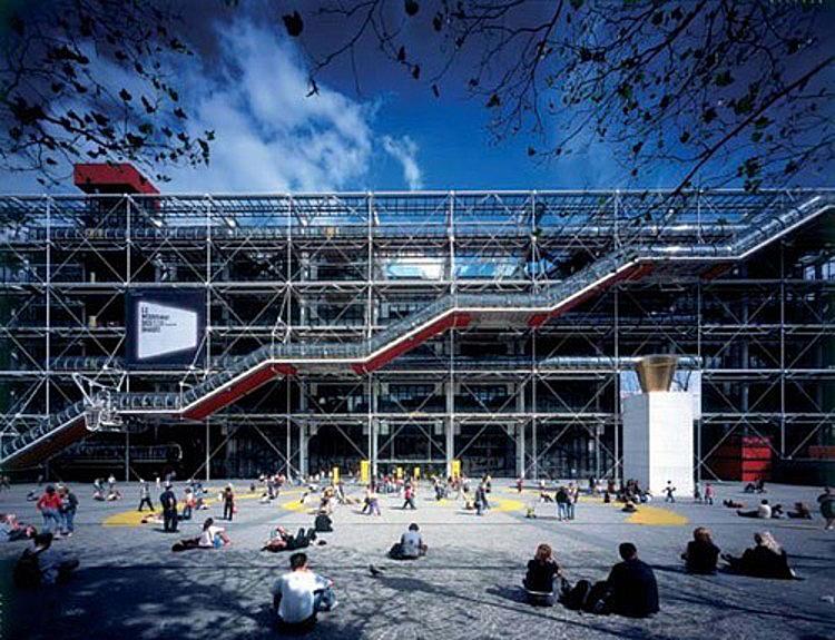 Centre Pompiou, Paris; Quelle: archdaily.com