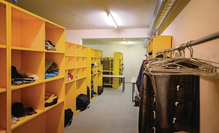 Asylunterkunft in Zivilschutzbunker, Wildhaus-Alt St. Johann; Quelle: Tagblatt.ch