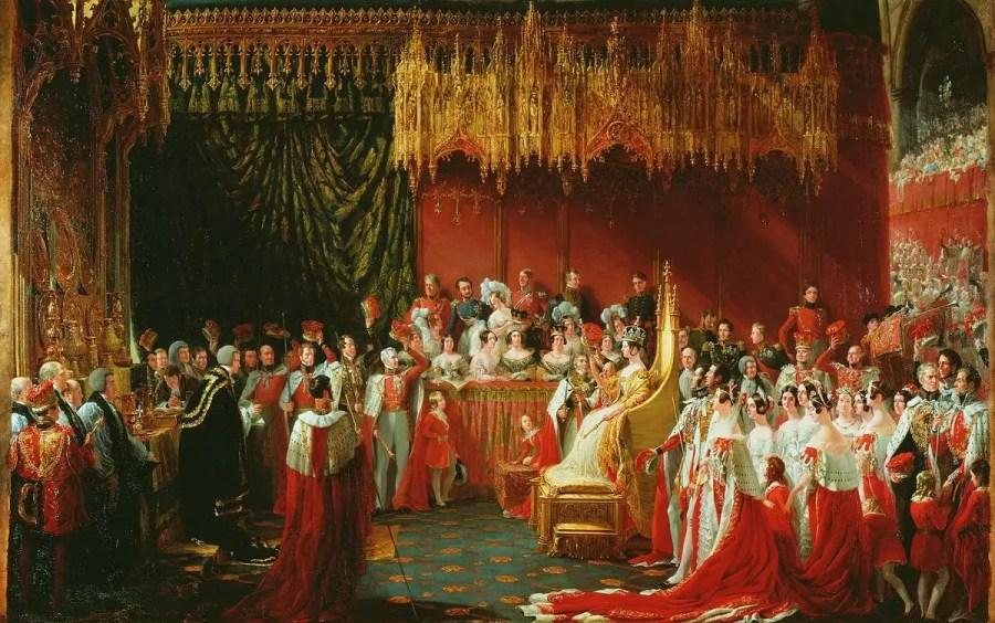 George Hayter: Coronation of Queen Victoria, 28. Juni 1838; Quelle: wikipedia.com