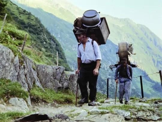 Filmstill aus Fredi Murer: Wir Bergler in den Bergen...; Quelle: filmpodium.ch