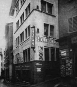 Meierei und Holländerstübli, um 1930, Quelle: cabaretvoltaire.ch